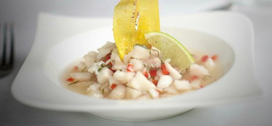 Nectar at Florblanca Resort: Nectar's Fresh Catch Ceviche