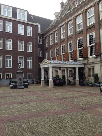 Sofitel Legend The Grand Amsterdam: The front entrance