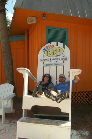 The Back Porch: Does this chair make us look fat?