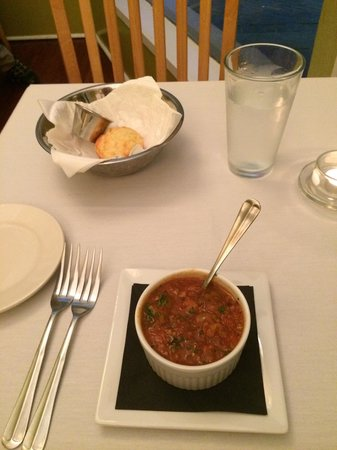Paramount Grill: Bean soup
