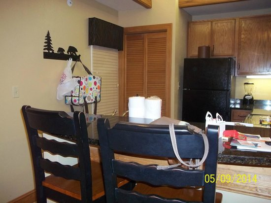 Holiday Inn Club Vacations Smoky Mountain Resort: Kitchen