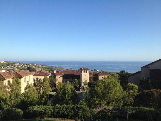 Marriott's Newport Coast Villas: View from resort lobby patio