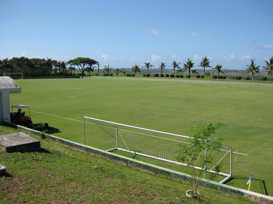 Leo Palace Resort: 応援しているJリーグ柏レイソルもキャンプにくるサッカー場が何面もある