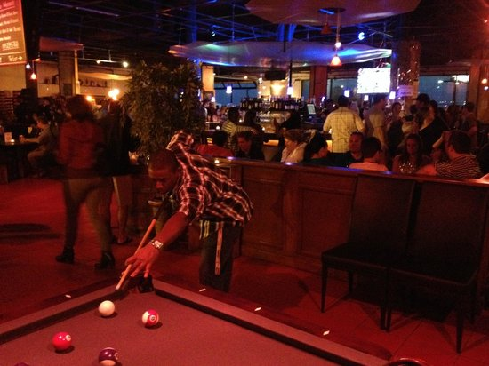Pool Table and Bar Picture of 57 Degrees San Diego TripAdvisor
