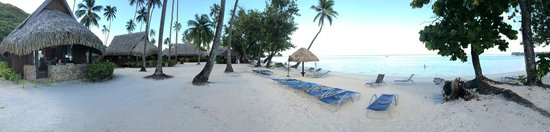 Sofitel Moorea Ia Ora Beach Resort : Bungalows & lagooon