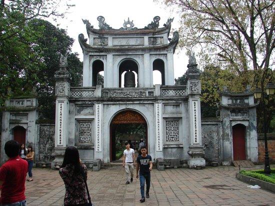 Temple de la Littérature de Hanoï : Entrance to The Temple of Literature, Hanoi