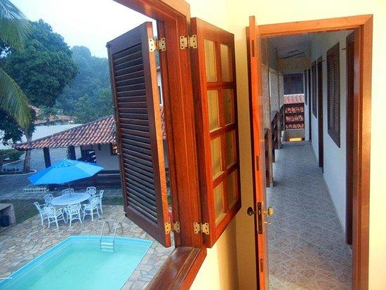 Pau Brasil Pousada: Vista da Janela suite standard