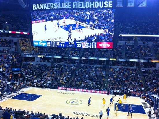 Bankers Life Fieldhouse : Go Pacers!