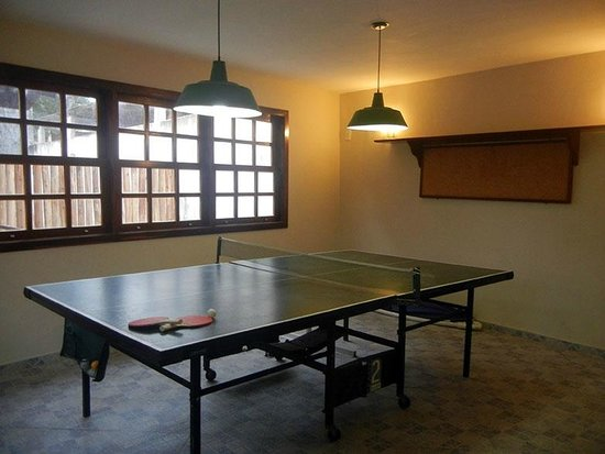 Pau Brasil Pousada: Salão de Jogos - ping pong