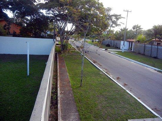 Pau Brasil Pousada: Vista externa (rua)