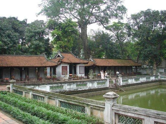 Temple de la Littérature de Hanoï : Courtyard 3 in The Temple of Literature