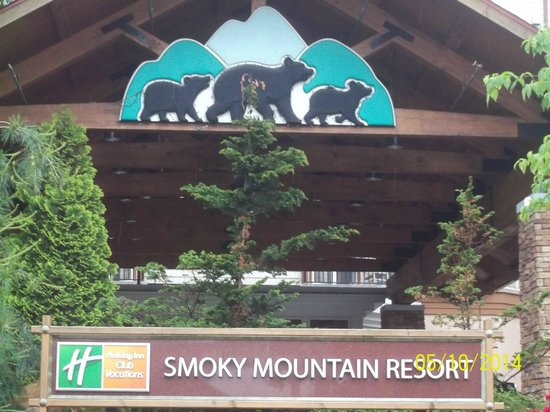 Holiday Inn Club Vacations Smoky Mountain Resort: Front Of Resort