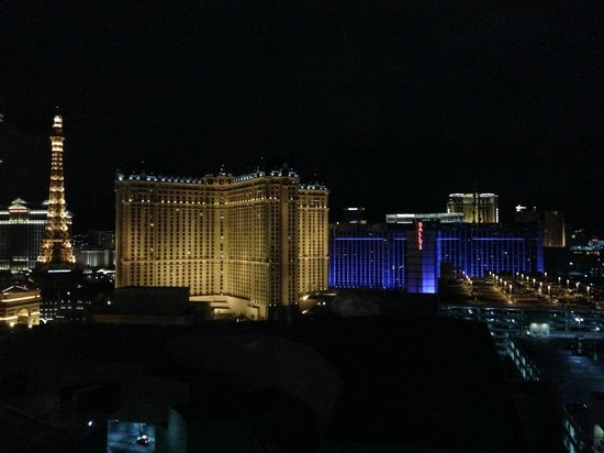 Elara by Hilton Grand Vacations: View facing the back of the strip