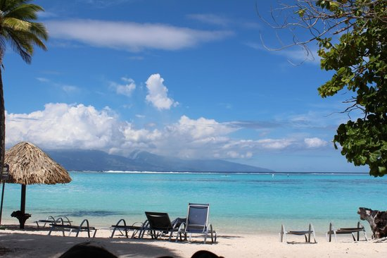 Sofitel Moorea Ia Ora Beach Resort: View from our bungalow