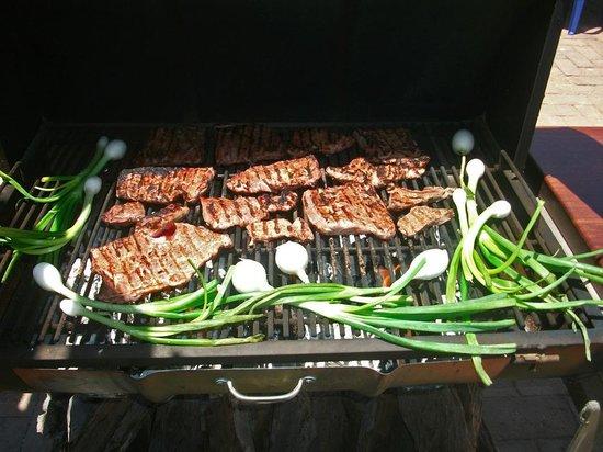 Sabor! Restaurant: Tender, juicy arrachera grilled over a wood fire!