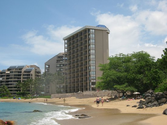 Kahana Beach Resort From The