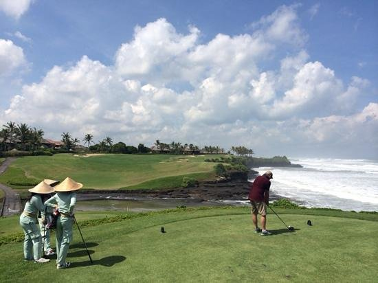 Nirwana Bali Golf Club: amazing hole amazing day