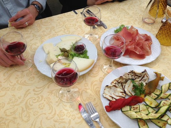 ristorante metastasio : Yummy light lunch!