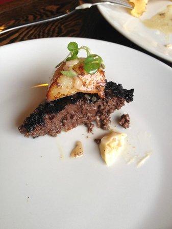 La Gueule de Bois : Black Pudding with Scallop