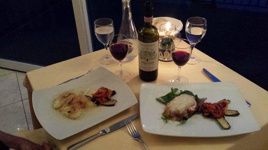 Hotel Onda Verde: Fabulous dinners!