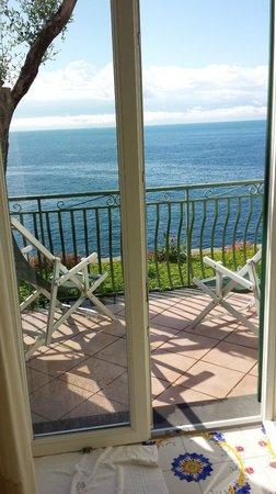 Hotel Onda Verde: Our terrace