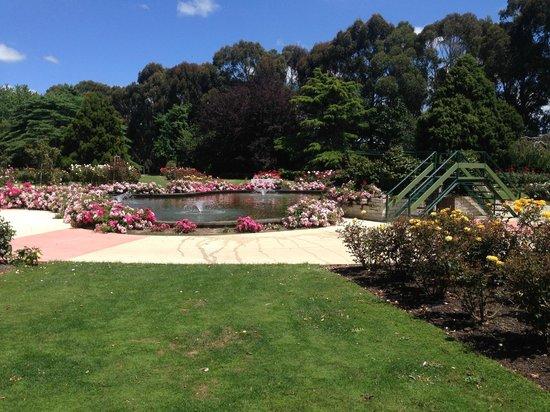 Victoria Esplanade Gardens: Fountain