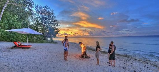 CoCo Beach Resort : sunset
