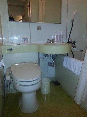 ibis Tokyo Shinjuku: The bathroom