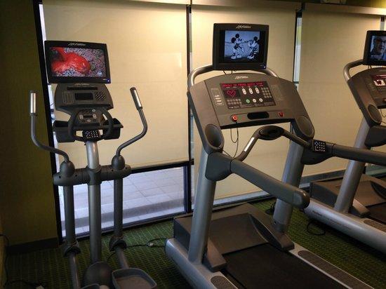 Fairfield Inn & Suites Charlotte Matthews : Nice fitness room.