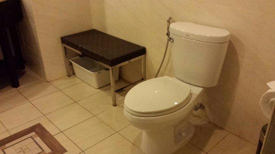 Coron Westown Resort : Toilet