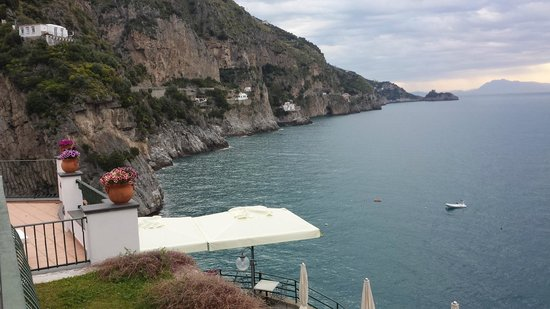 Hotel Onda Verde: View from our terrace.
