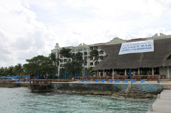 The Money Bar Beach Club: View from the Pier