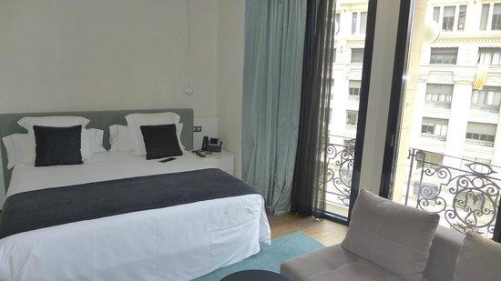 Hotel Ohla Barcelona: Nice comfy not too hard bed