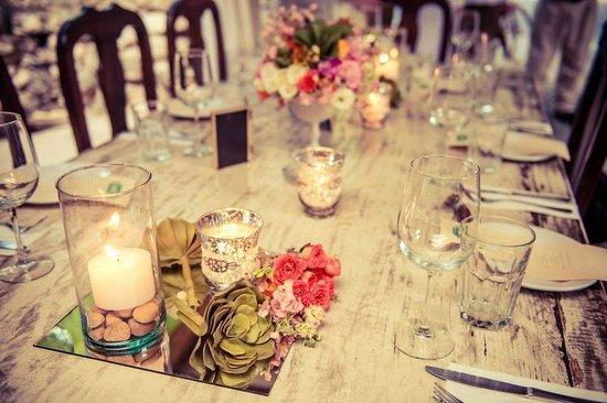 Casa Banana : The wedding party table