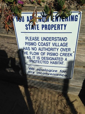 Pismo Coast Village RV Resort : Disclaimer