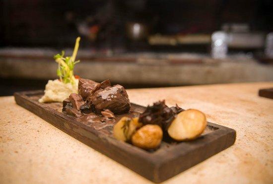 Casa Banana: Our steak dinner