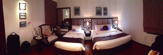 Hanoi Glance Hotel: Large, clean comfy bedroom
