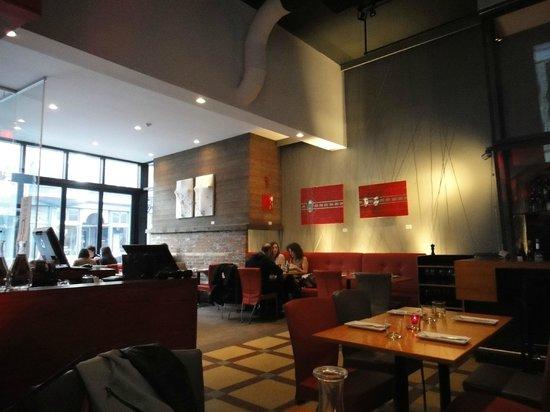 Restaurant decor picture of le cercle quebec city