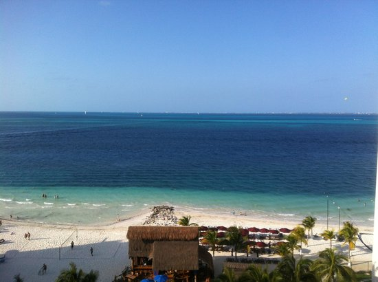 Casa Maya Cancun: View from the 8th floor