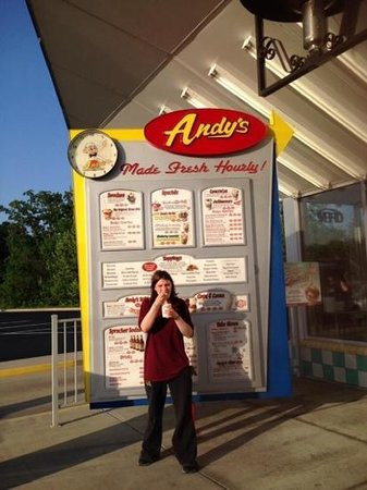 Andy's Frozen Custard : At Andy's for Frozen Custard