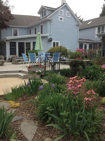 Back Creek Inn: Wonderful yard