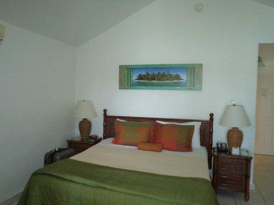 The Verandah Resort & Spa: hard bed