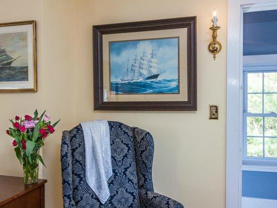 Kennebec Inn: Captain Reed Room
