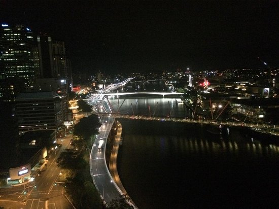 Park Regis North Quay Hotel : View from room (nighttime)