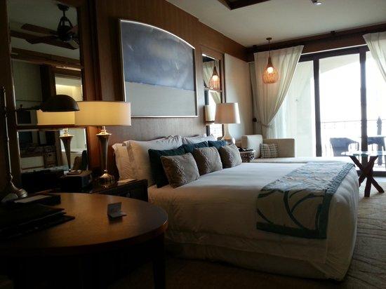 The St. Regis Saadiyat Island Resort: the room