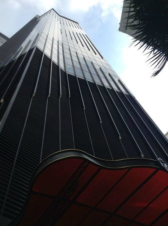 The Continent Hotel Bangkok by Compass Hospitality: A vertical view of the hotel from ground floor