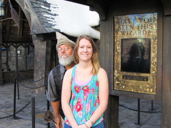 The Wizarding World of Harry Potter: Everyone was in character