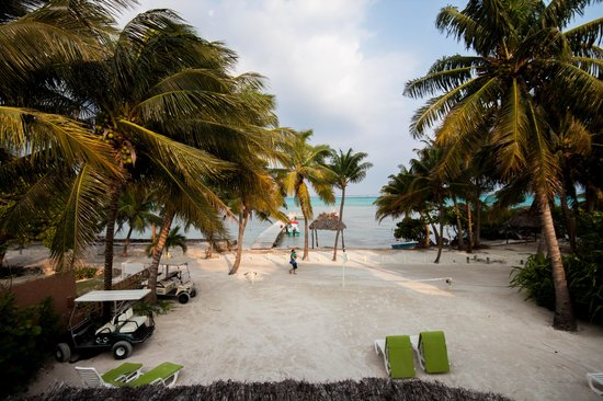 Caye Casa: View from the room