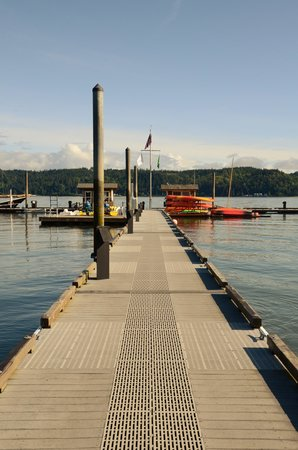 Alderbrook Resort & Spa : Pier