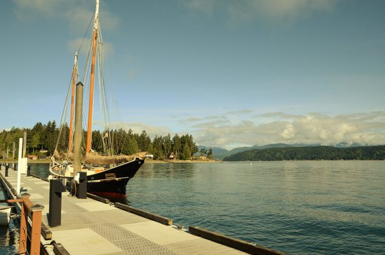 Alderbrook Resort & Spa: Pier